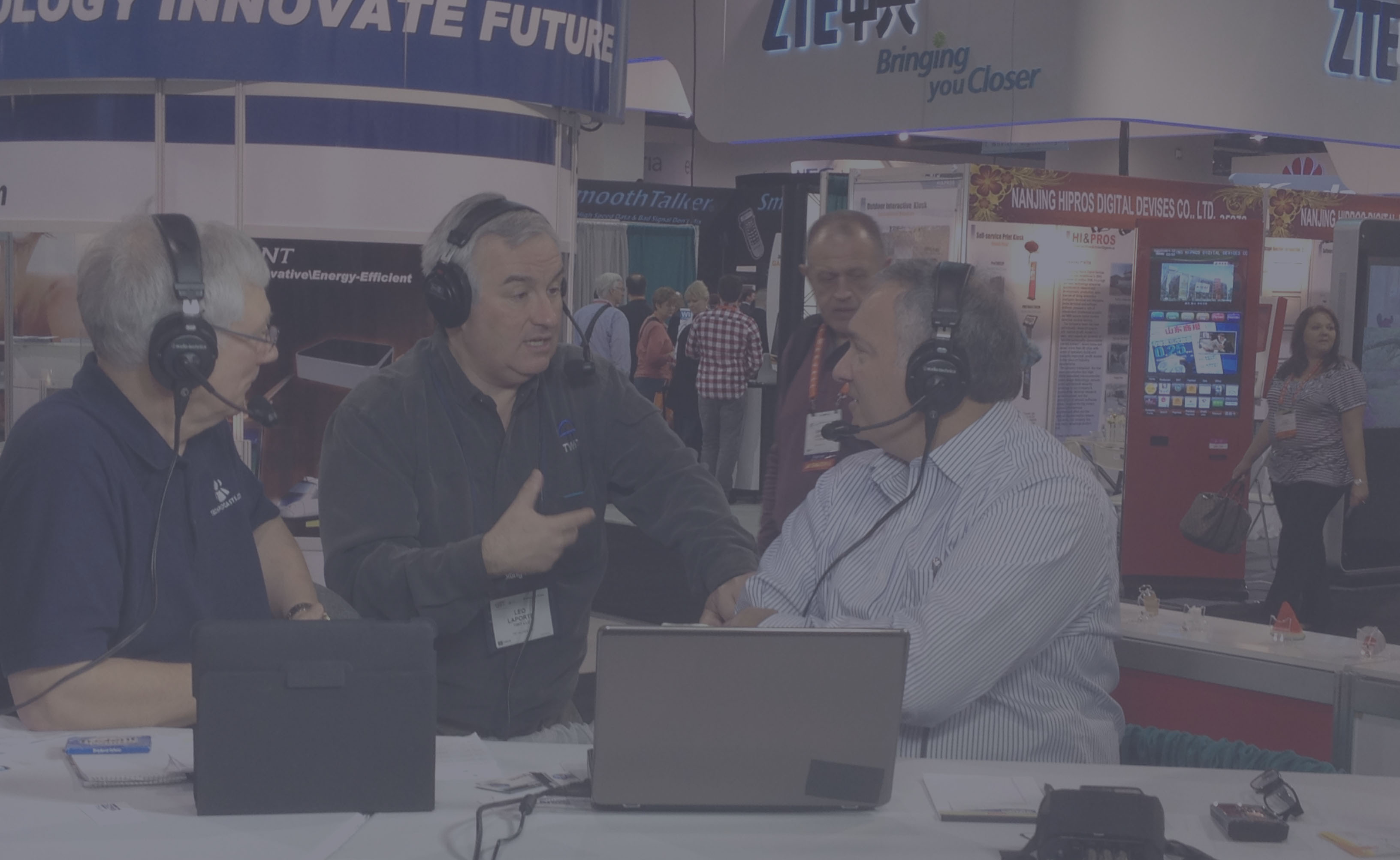Webcast Live from your Tradeshow